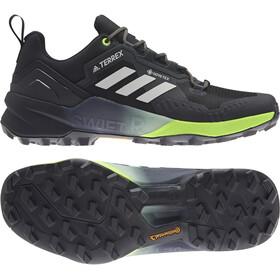 adidas TERREX Swift R3 Gore-Tex Hiking Shoes Men core black/grey one/solar yellow